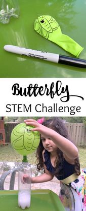 Caterpillar to Butterfly Science Activity with Balloon 1