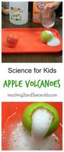 Simple Preschool Science Activity that Makes a Volcano 3