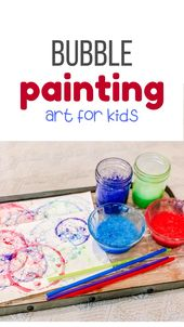 DIY Bubble Painting for Kids 17
