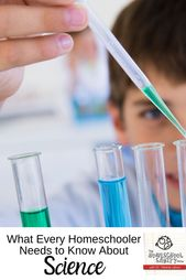 What Every Homeschooler Needs To Know About Science 4