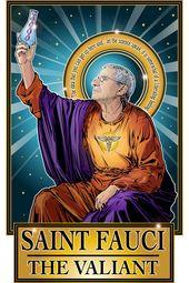 Saint Fauci The Valiant Poster 2