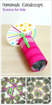 Science for Kids: How to Make a Kaleidoscope 9