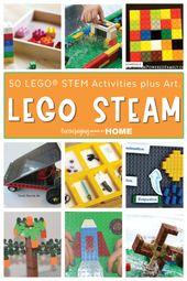 50 LEGO STEM Activities Plus Art for LEGO STEAM. 6